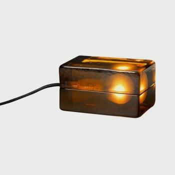 Block Lamp Amber