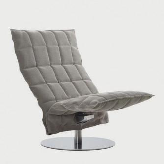 Swivel k Chair stone black